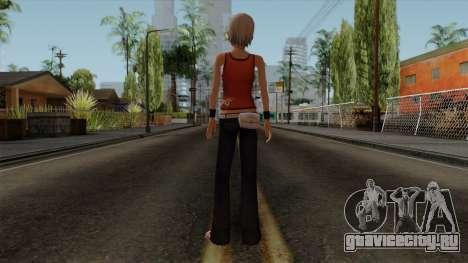Ashley Robbins - The Another Code R для GTA San Andreas третий скриншот