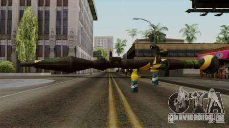 Brasileiro Rocket Launcher v2 для GTA San Andreas второй скриншот