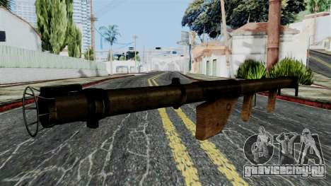 Bazooka from Battlefield 1942 для GTA San Andreas второй скриншот