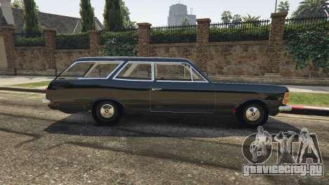 Chevrolet Caravan 1975 2.0 для GTA 5 вид слева