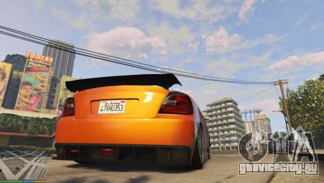 Пневмоподвеска v1.0 для GTA 5 третий скриншот