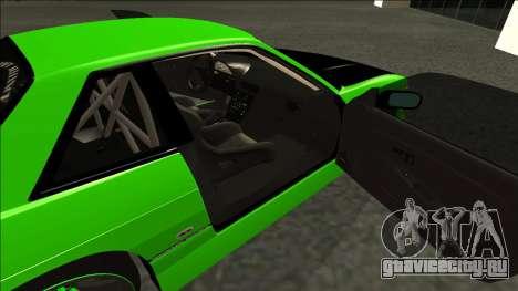 Nissan Silvia S13 Drift Monster Energy для GTA San Andreas вид сзади слева