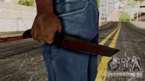 Новый ножик кровавый для GTA San Andreas третий скриншот