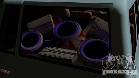 Toyota Kijang Grand Ext для GTA San Andreas вид сзади