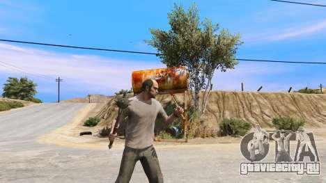 Стальная булава из TES IV Oblivion для GTA 5 третий скриншот