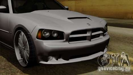 Dodge Charger 2006 DUB для GTA San Andreas салон