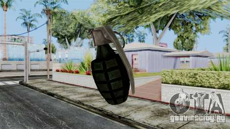 US Grenade from Battlefield 1942 для GTA San Andreas третий скриншот