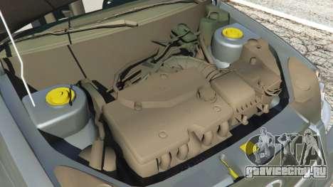 ВАЗ-2170 Лада Приора для GTA 5 вид справа