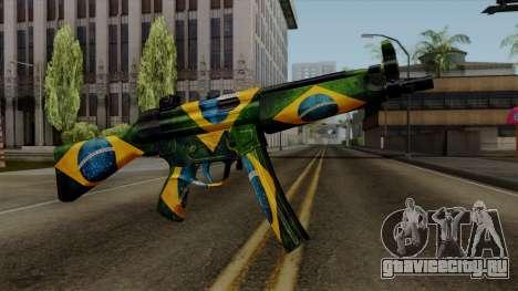 Brasileiro MP5 v2 для GTA San Andreas