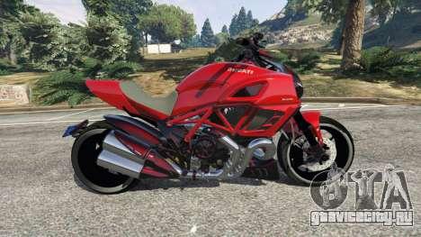 Ducati Diavel Carbon 2011 для GTA 5