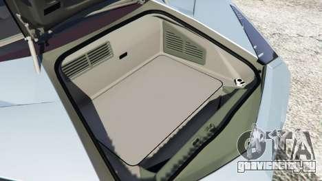 Lamborghini Reventon Roadster [Beta] для GTA 5 вид сзади справа