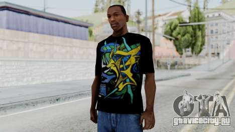 T-shirt from Jeff Hardy v1 для GTA San Andreas