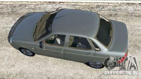 ВАЗ-2170 Лада Приора для GTA 5 вид сзади