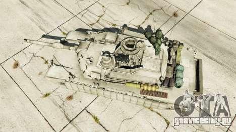 M1A2 Abrams v1.1 для GTA 5 вид сзади