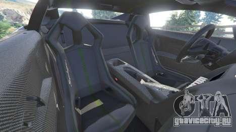 Lamborghini Gallardo LP 570-4 2011 Superleggera для GTA 5 руль и приборная панель