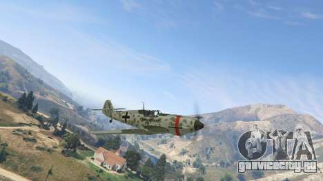 Messerschmitt BF-109 E3 v1.1 для GTA 5 второй скриншот