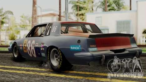 Pontiac GranPrix Hotring 1981 IVF для GTA San Andreas вид слева