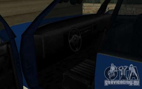 Тойота Краун Majesta стиле GTA для GTA San Andreas вид справа