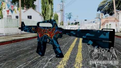 M4A1-S Master Piese для GTA San Andreas второй скриншот