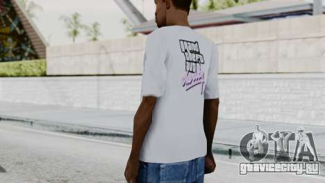 GTA Vice City T-shirt White для GTA San Andreas третий скриншот