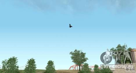 Вороны для GTA San Andreas третий скриншот