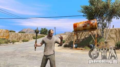 Стальная булава из TES IV Oblivion для GTA 5 четвертый скриншот