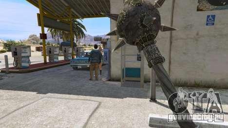 Стальная булава из TES IV Oblivion для GTA 5