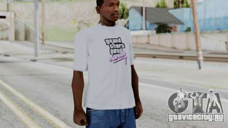 GTA Vice City T-shirt White для GTA San Andreas второй скриншот