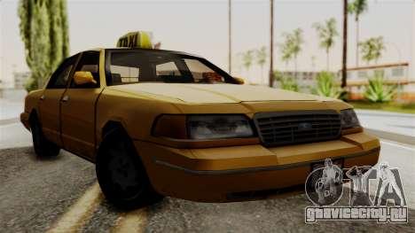 Ford Crown Victoria LP v2 Taxi для GTA San Andreas
