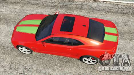 Chevrolet Camaro SS 2010 [Beta] для GTA 5 вид сзади