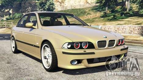 BMW M5 (E39) для GTA 5