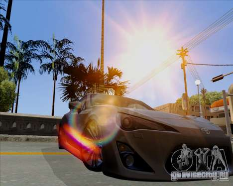 Vitesse ENB V1.1 Low PC для GTA San Andreas