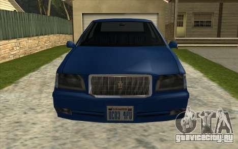 Тойота Краун Majesta стиле GTA для GTA San Andreas вид слева