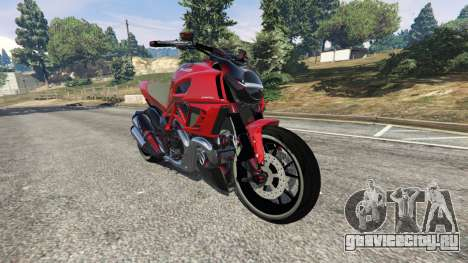 Ducati Diavel Carbon 2011 для GTA 5