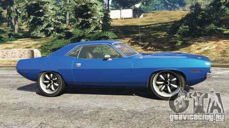 Plymouth Barracuda 1970 для GTA 5
