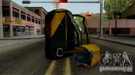 Brasileiro Parachute v2 для GTA San Andreas второй скриншот