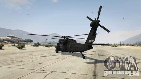 MH-60L Black Hawk для GTA 5 третий скриншот