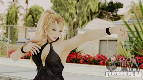 DOA 5 Sarah BlackDress для GTA San Andreas