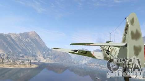Messerschmitt BF-109 E3 v1.1 для GTA 5 шестой скриншот