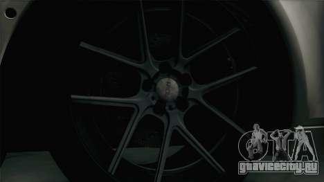 BMW M5 F10 Grey Demon для GTA San Andreas вид сзади