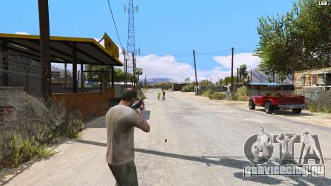 САЙГА из Battlefield 4 для GTA 5