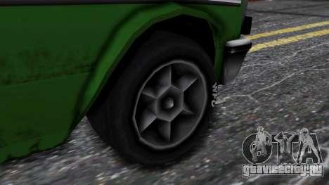 Drag-Perennial для GTA San Andreas вид сзади слева