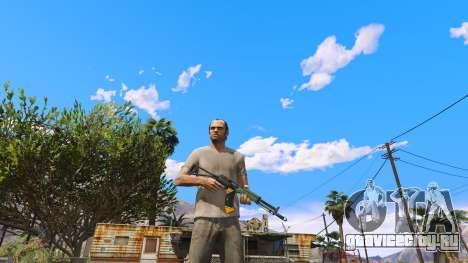 AEK-971 из Battlefield 4 для GTA 5 второй скриншот