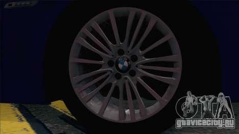BMW 520 Следственный комитет для GTA San Andreas вид сзади