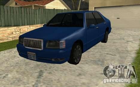 Тойота Краун Majesta стиле GTA для GTA San Andreas