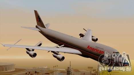Boeing 747-100 American Airlines для GTA San Andreas
