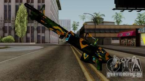 Brasileiro Minigun v2 для GTA San Andreas второй скриншот