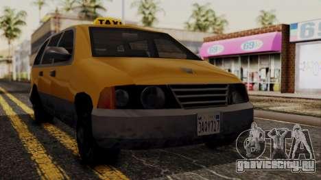Minivan Cabbie SA Style для GTA San Andreas