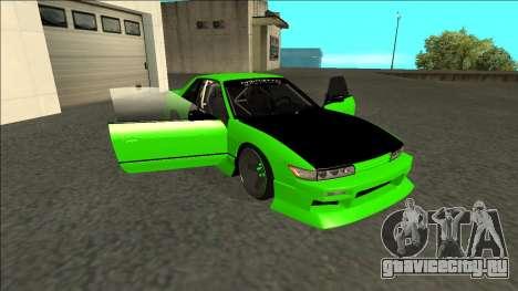Nissan Silvia S13 Drift Monster Energy для GTA San Andreas вид сбоку