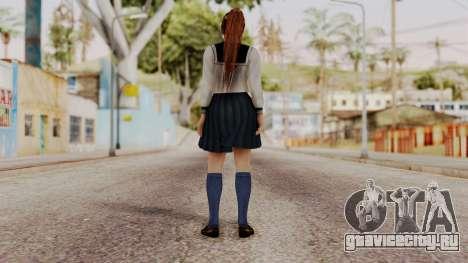 DOA 5 Kasumi School Girl для GTA San Andreas третий скриншот